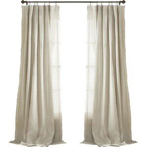 liam pinch pleat curtain panel pair set of 2