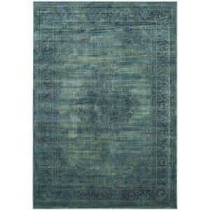 Makenna Turquoise Area Rug