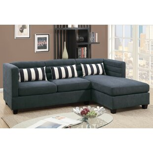 2 Piece Chaise Sectional Wayfair