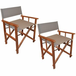Folding Director Chairs (Set of 2) by Lynton Garden