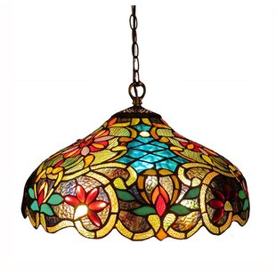 Laurie 2-Light Ceiling Bowl Pendant  sc 1 st  Wayfair & Tiffany Pendants Youu0027ll Love | Wayfair