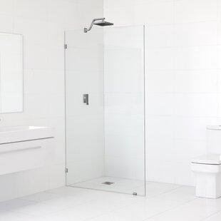 Fixed Panel Glass Shower Wall Wayfair - Discount shower wall panels
