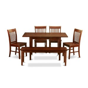 Phoenixville 6 Piece Dining Set by Thr..