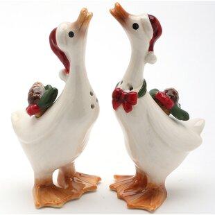 Geese 2 Piece Salt And Pepper Set