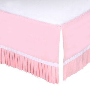 Double Pleated Crib Dust Ruffle