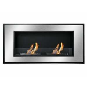 Ignis Products Bellezza Recessed Ventless Wall Mount Ethanol Fireplace