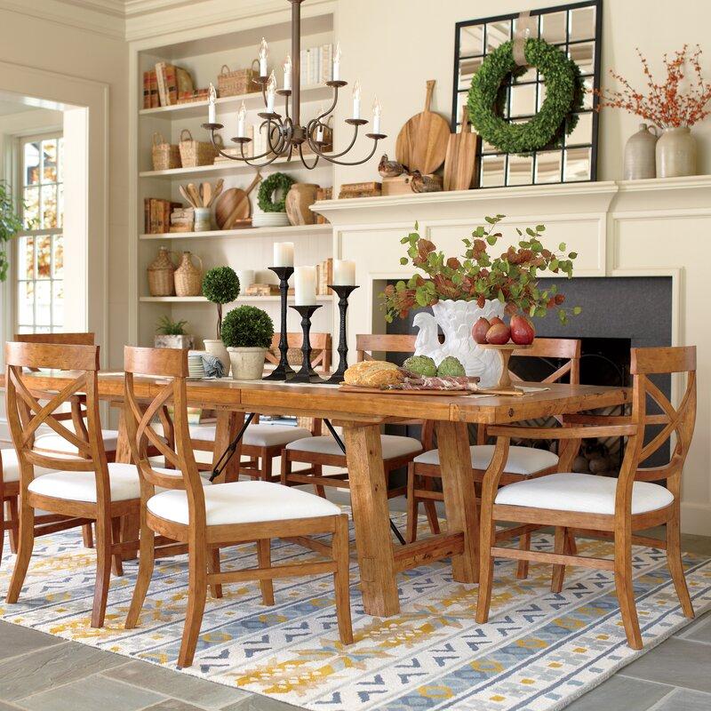 Birch Lane™ Mansfield Extending Dining Table & Reviews | Birch Lane