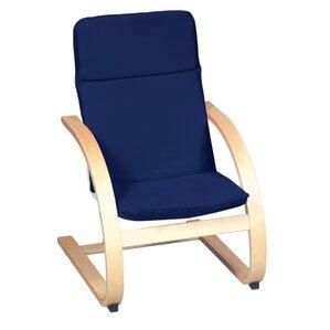 Anrey Kids Cotton Rocking Chair by Viv + Rae