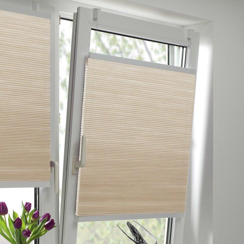 gardinia plissees easyfix bewertungen. Black Bedroom Furniture Sets. Home Design Ideas