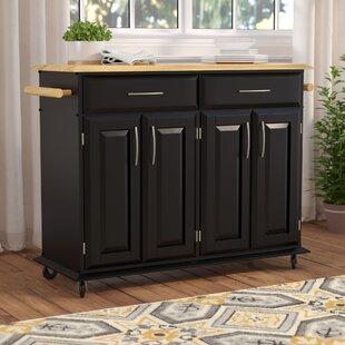 Kitchen island bench seating wayfair lemont kitchen island with wood top workwithnaturefo