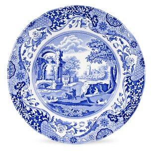 Blue Italian 10.5  Dinner Plate (Set of 4)  sc 1 st  Wayfair & Italian Style Dinner Plates | Wayfair