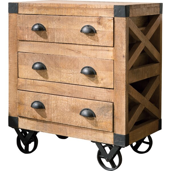 Donny Osmond Storage Bedroom Bench Reviews: Donny Osmond 3 Drawer Accent Cabinet & Reviews