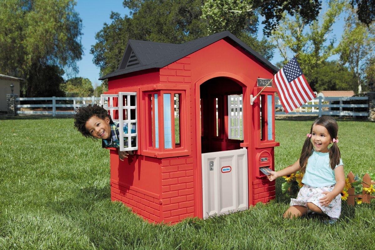 Little Tikes Cape Cottage Playhouse Amp Reviews Wayfair