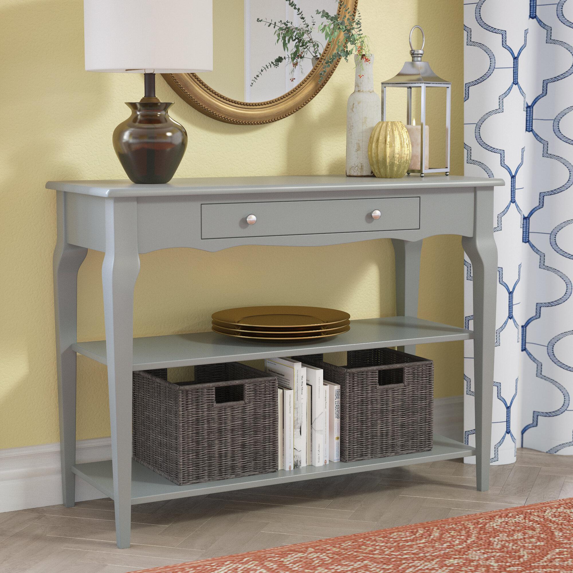 Three Posts Shawnee Console Table U0026 Reviews | Wayfair