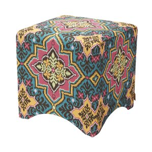 Pineda Accent Cube Ottoman by Bungalow Rose