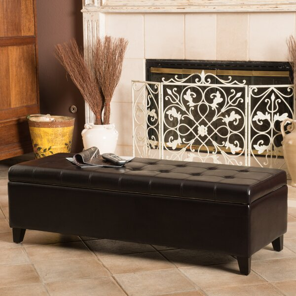Three Posts Polycarp Storage Ottoman Reviews: Three Posts Clearview Storage Ottoman & Reviews