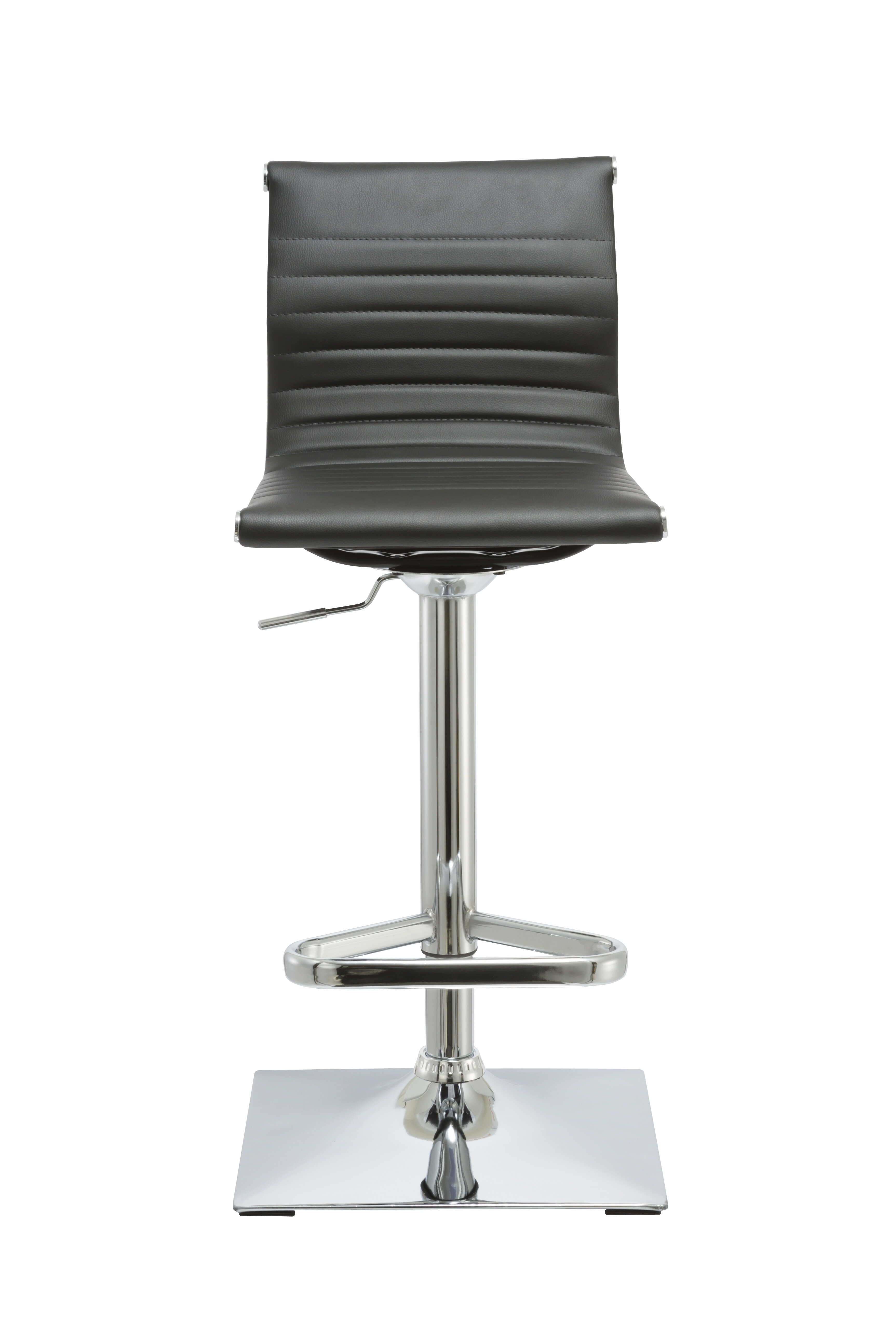 Orren Ellis Kranz Adjustable Height Swivel Bar Stool Wayfair