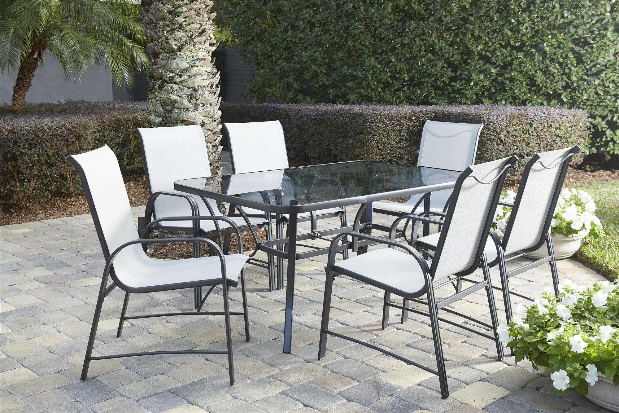 Osprey 7 piece patio dining set
