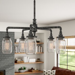 Bryn 5 Light Shaded Chandelier
