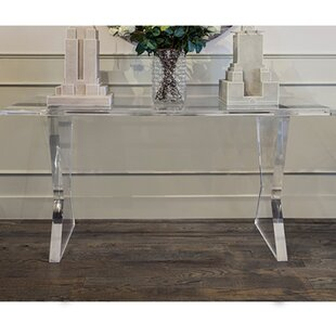 Perfect Acrylic Console Table