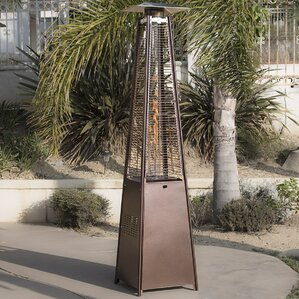 Deluxe Pyramid 42,000 BTU Propane Patio Heater