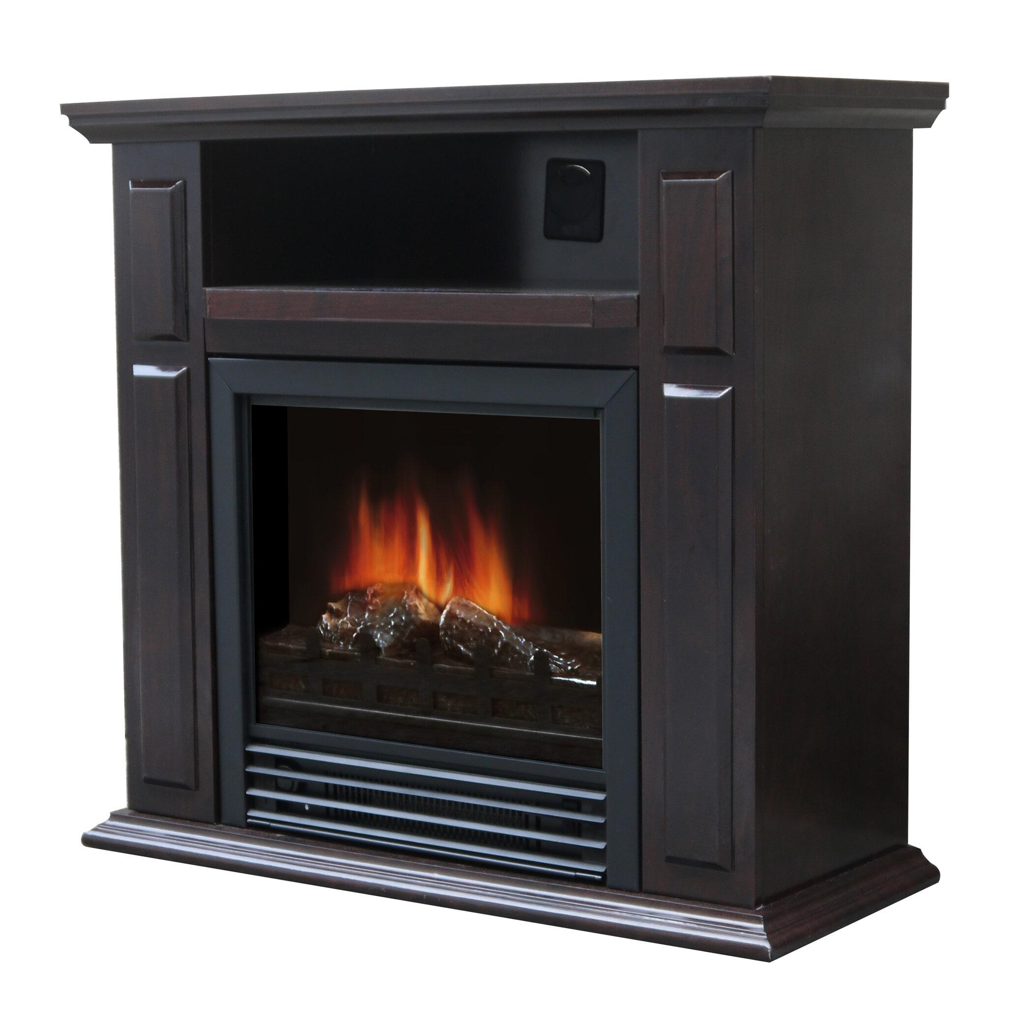 Charlton Home Wellesley Electric Fireplace Reviews Wayfair