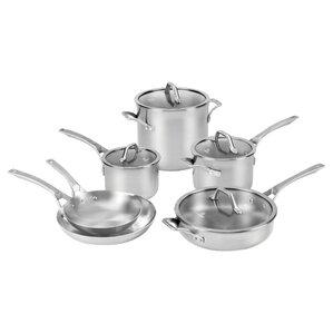 Lambert Stainless Steel 10-Piece Cookware Set