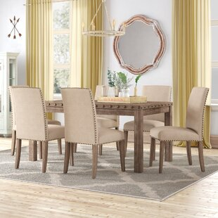 Mach 7 Piece Solid Wood Dining Set
