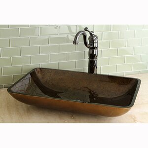 Fauceture Rectangle Vessel Bathroom Sink