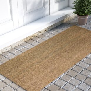 Frances Solid Double Door Doormat & Door Mats You\u0027ll Love | Wayfair