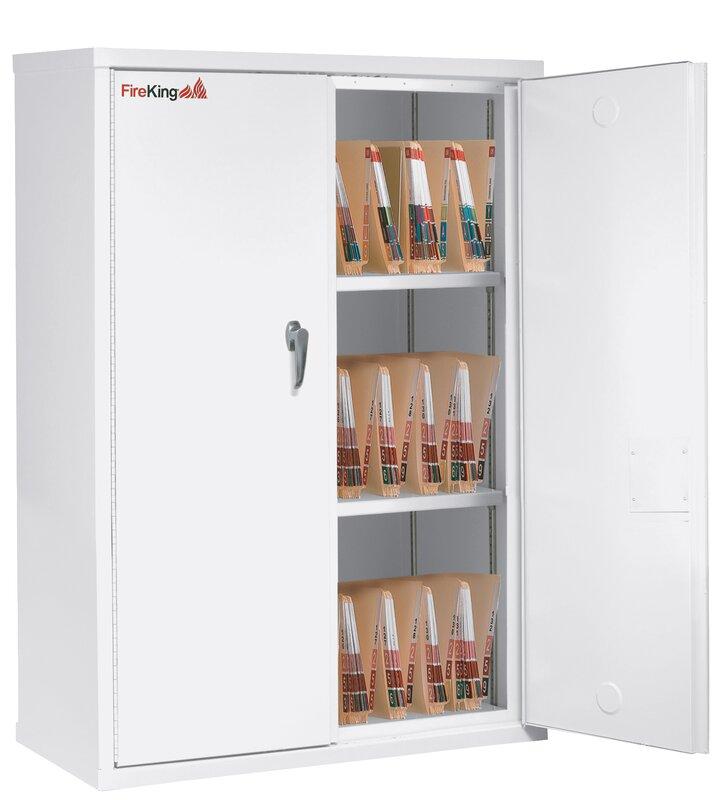 Fireproof Double Door Storage Cabinet