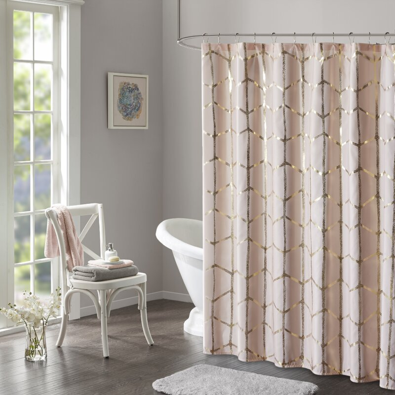 Mangesh Microfiber Shower Curtain