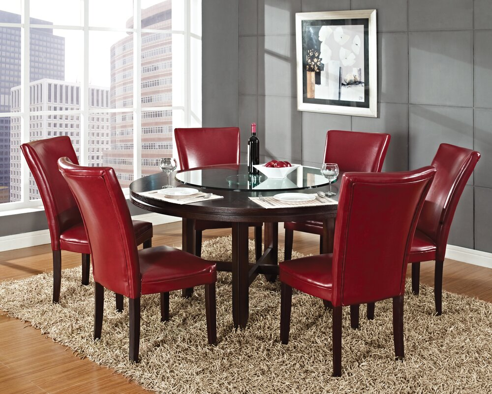 Contemporary Dining Latitude Run Noreen Contemporary Dining Table & Reviews  Wayfair