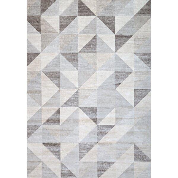 Elegant Abacasa Sonoma Grey/White Area Rug U0026 Reviews | Wayfair