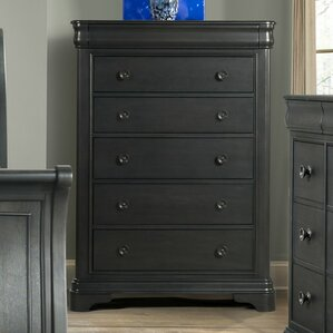Mcnabb 6 Drawer Chest with Mirror by Three Posts