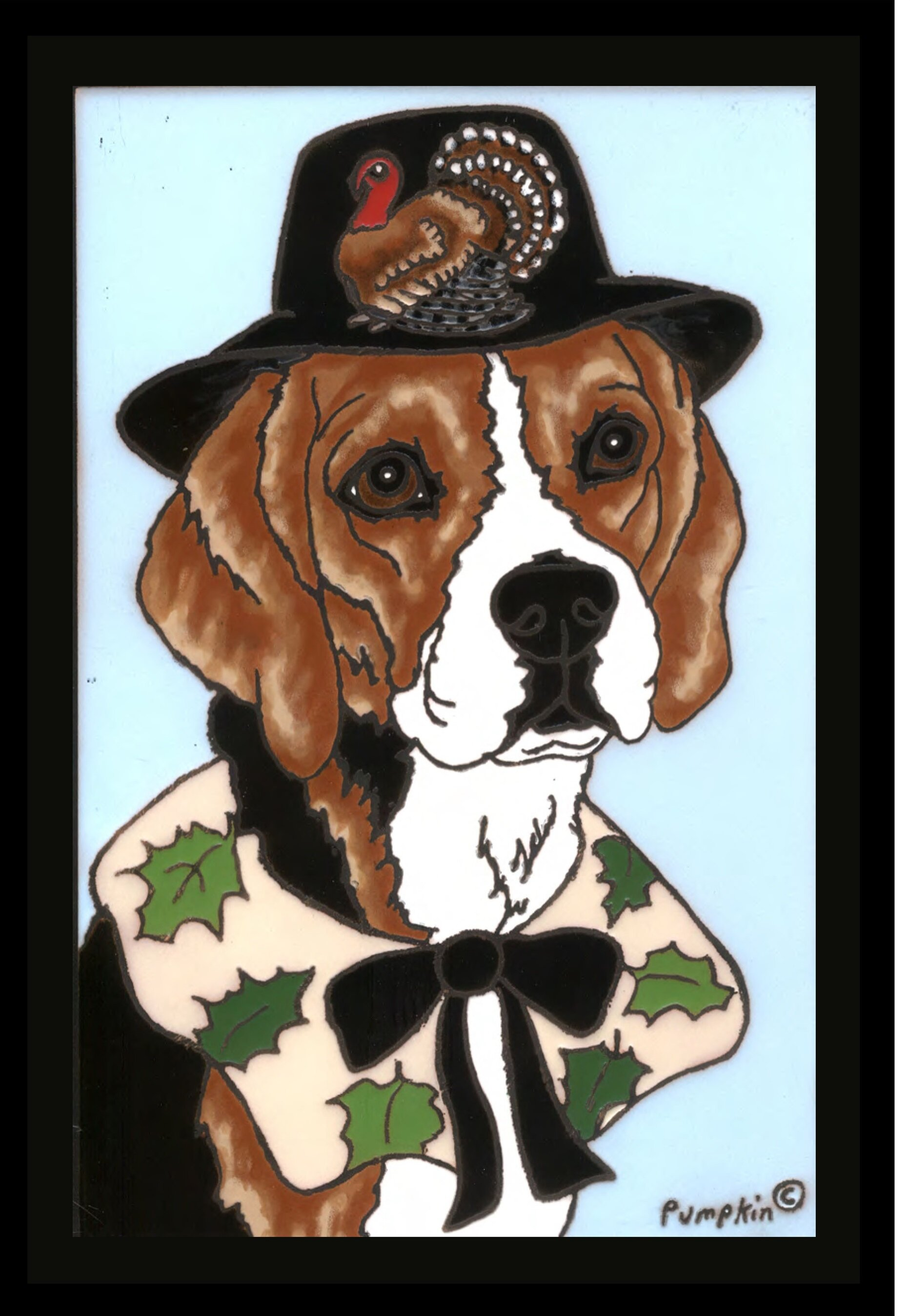 Beau The Cranford Group Beagle Thanksgiving Garden Flag | Wayfair