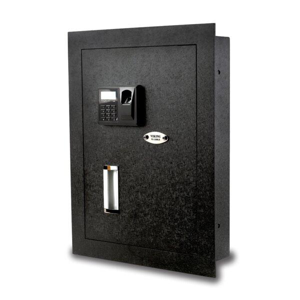 Viking Security Safe Viking Security Safe Biometric Lock Hidden Wall Safe    Wayfair