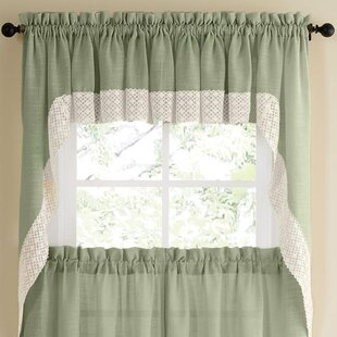 green kitchen valances blue quickview green kitchen valances curtains youll love wayfair