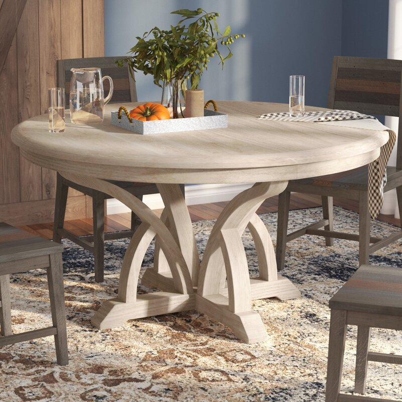 Lark Manor Della 60 Round Dining Table Wayfair