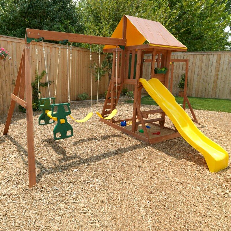 Cedarbrook Wooden Swing Set