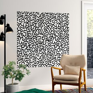 9f31582db407 Keith Haring Wall Decals (Set of 2)