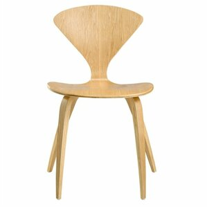 Wooden Side Chair by Fine Mod Imports