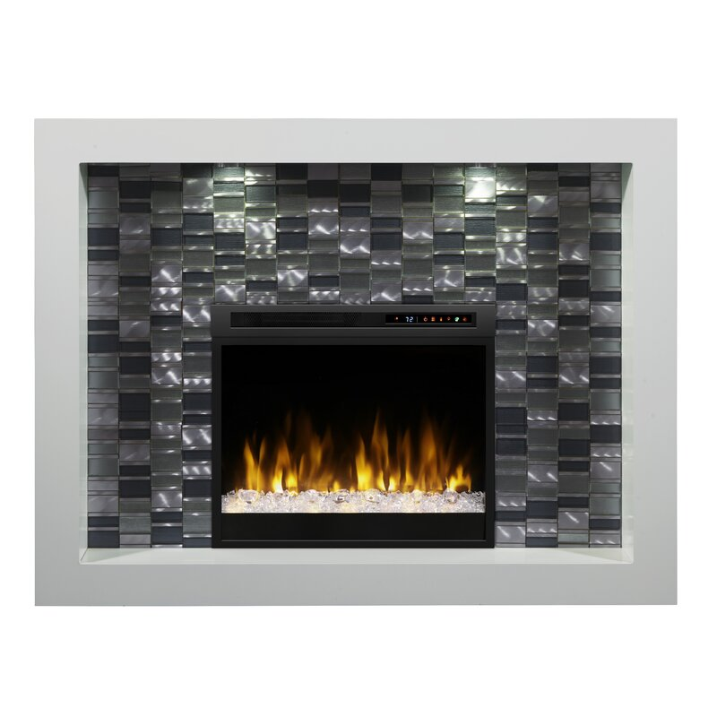 Dimplex Crystal Recessed Electric Fireplace Wayfair