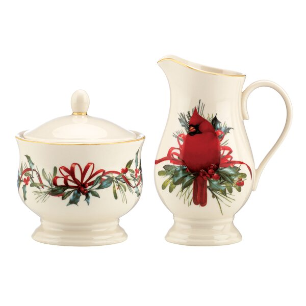 Christmas Sugar Bowls And Creamers Youu0027ll Love | Wayfair