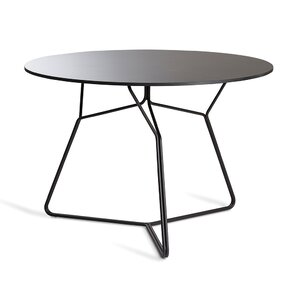 Serac Stainless Steel Dining Table by OASIQ