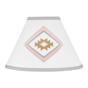 Blush pink lamp shades wayfair aztec 7 empire lamp shade aloadofball Images