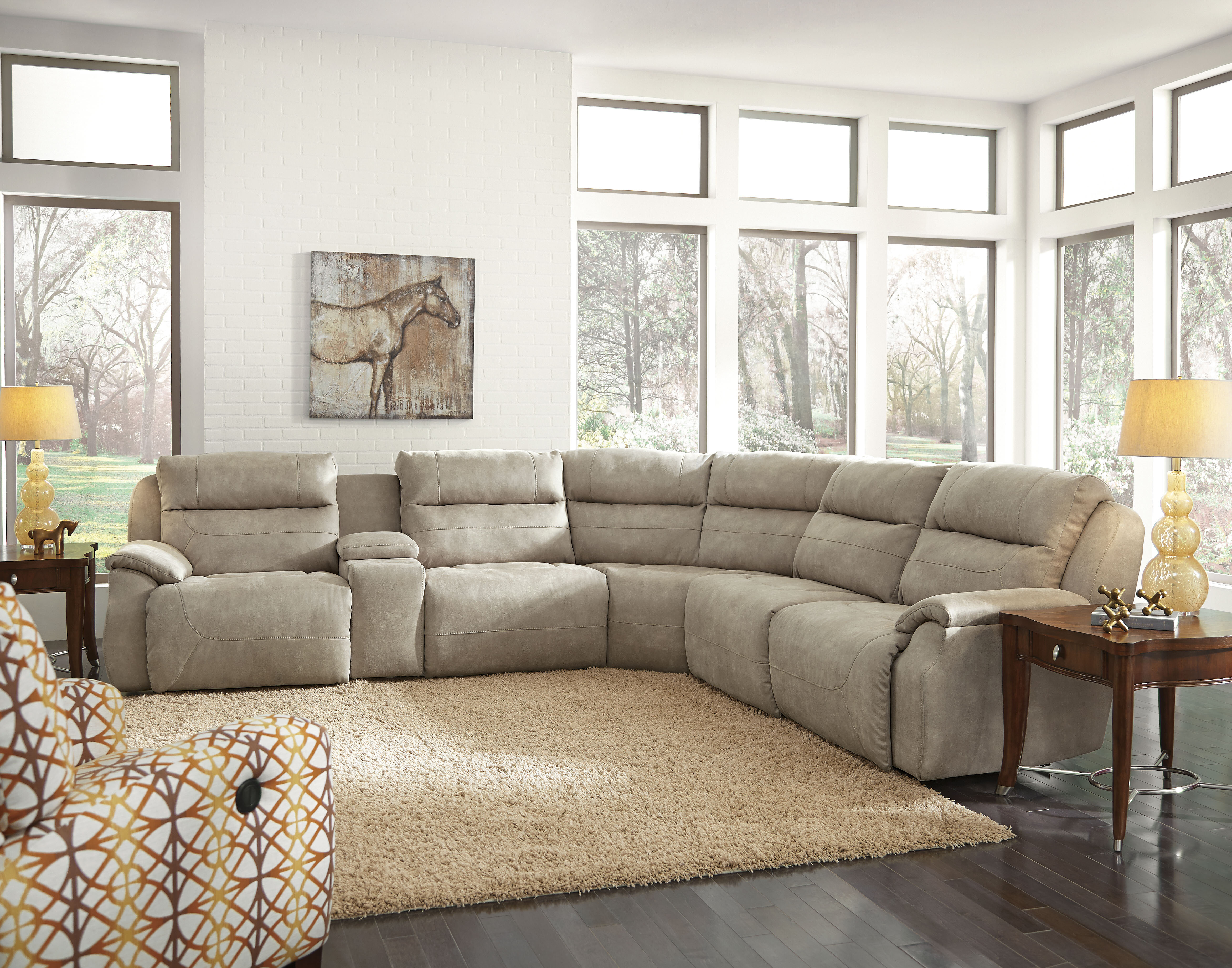Southern Motion Five Star Reclining Sectional Wayfair