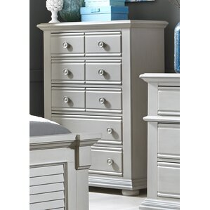 Dickens 8 Drawer Chest by Beachcrest Home