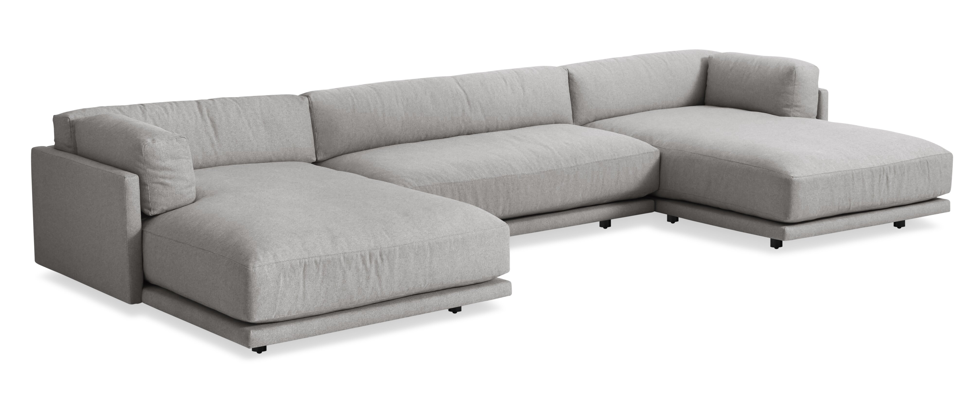 Sunday U Shaped Sectional Sofa Allmodern