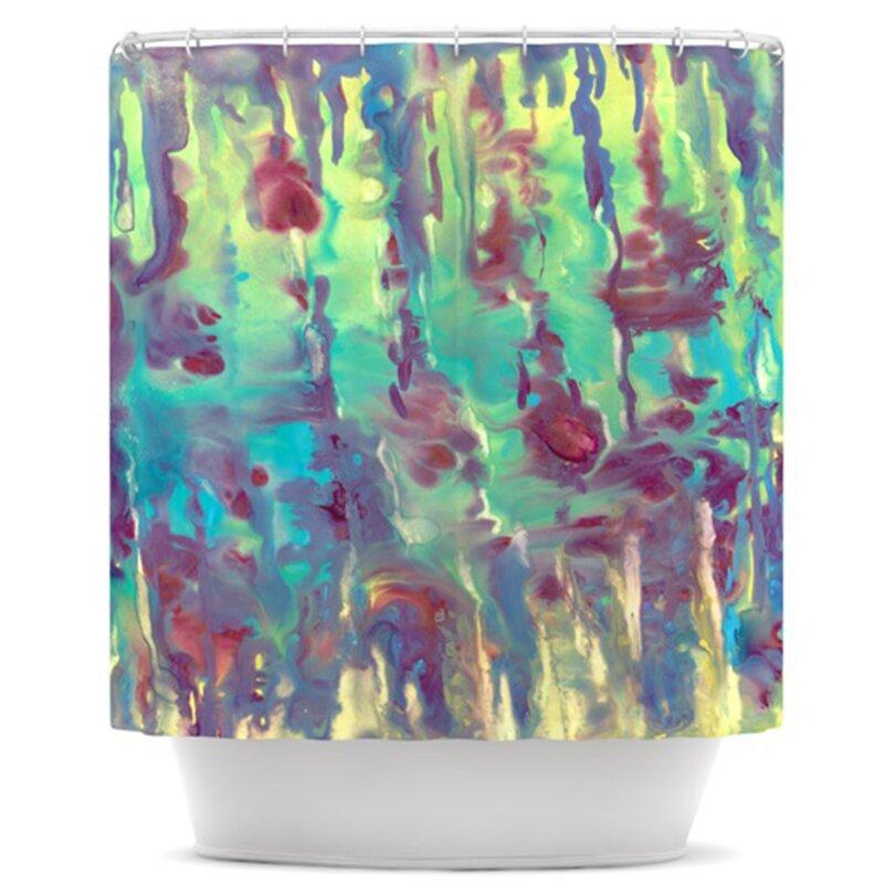 KESS InHouse Splash Shower Curtain